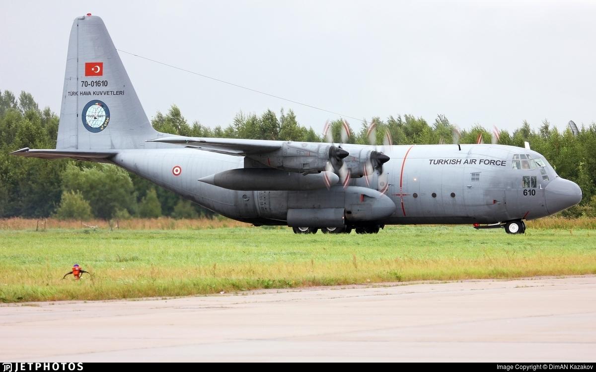 70-01610 - Lockheed C-130E Hercules - Turkey - Air Force
