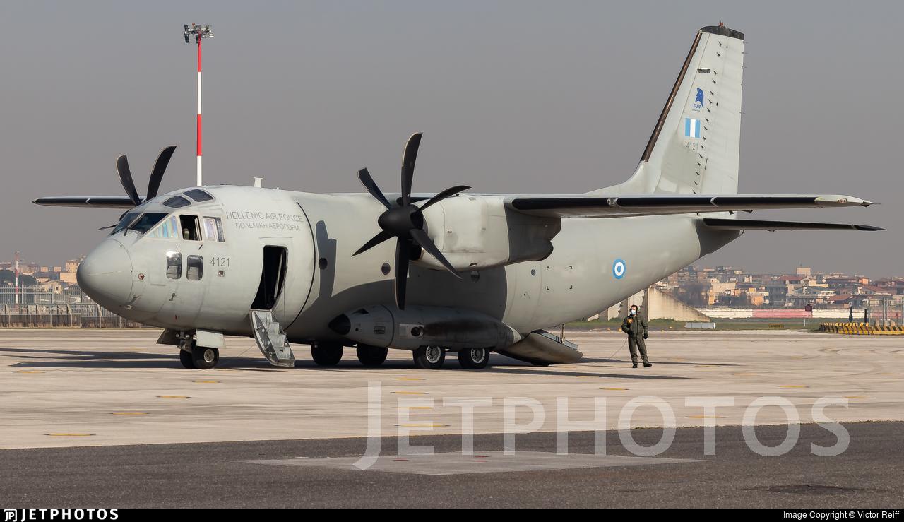 4121 - Alenia C-27J Spartan - Greece - Air Force