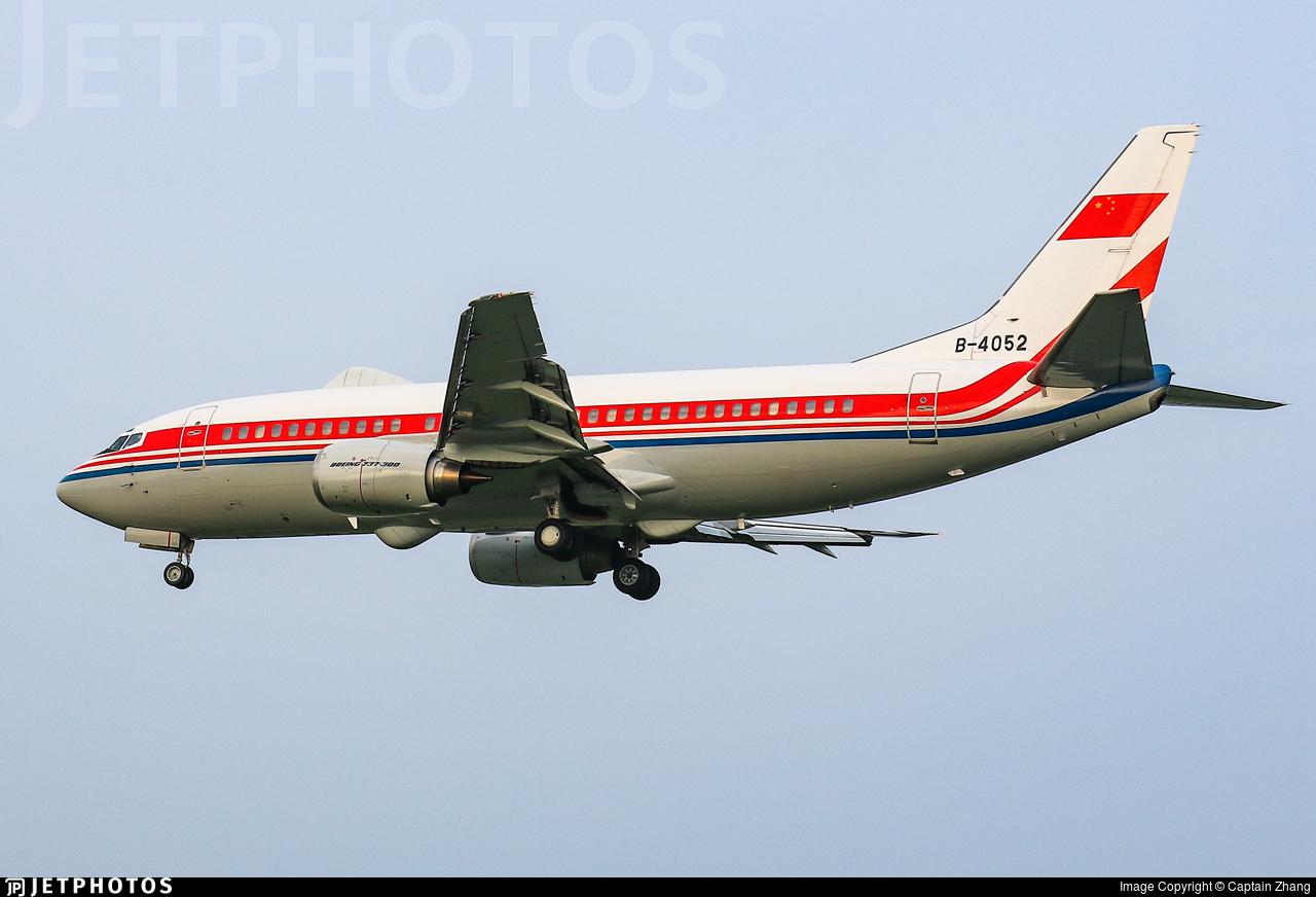 B-4052 - Boeing 737-3Q8 - China - Air Force