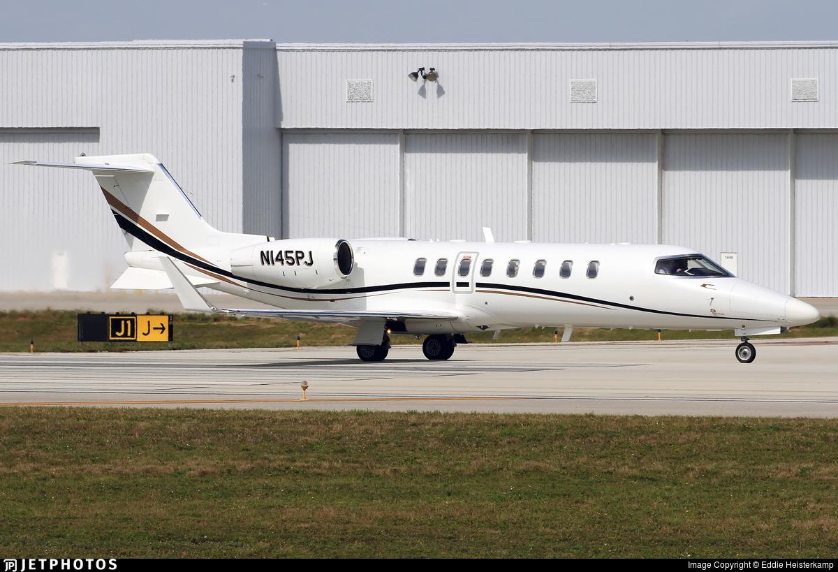N145PJ - Bombardier Learjet 45 - Private
