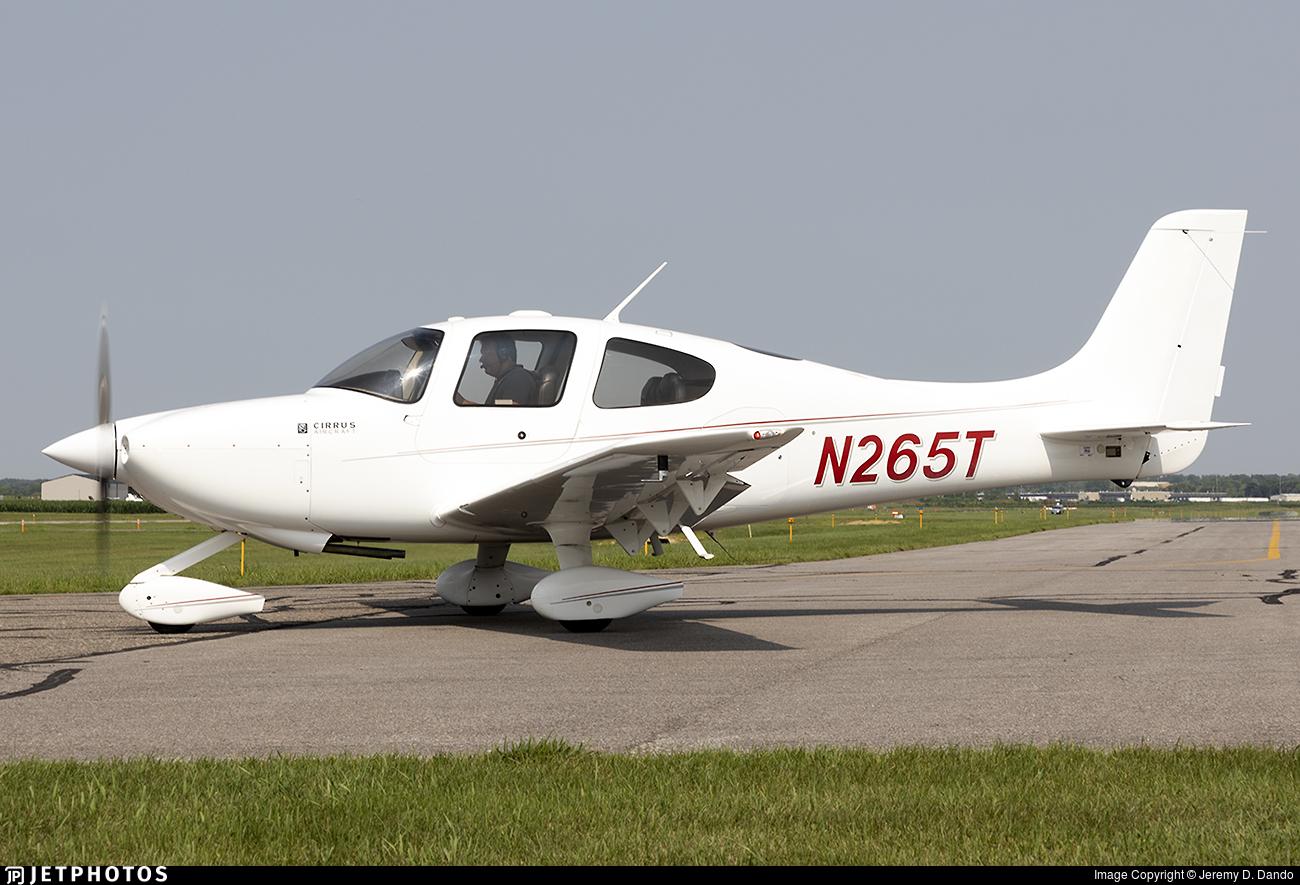 N265T - Cirrus SR20 - Private