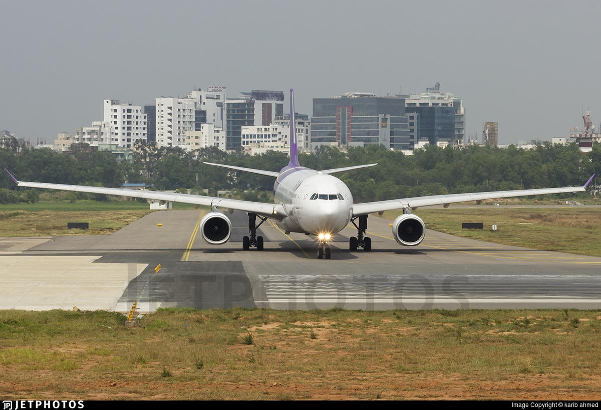 HS-TER - Airbus A330-343 - Thai Airways International