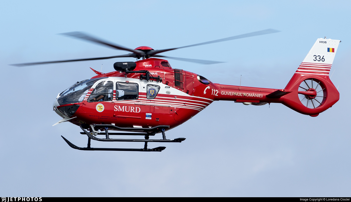 336 - Airbus Helicopters H135 P3H - Romania - Emergency Rescue Service (SMURD)