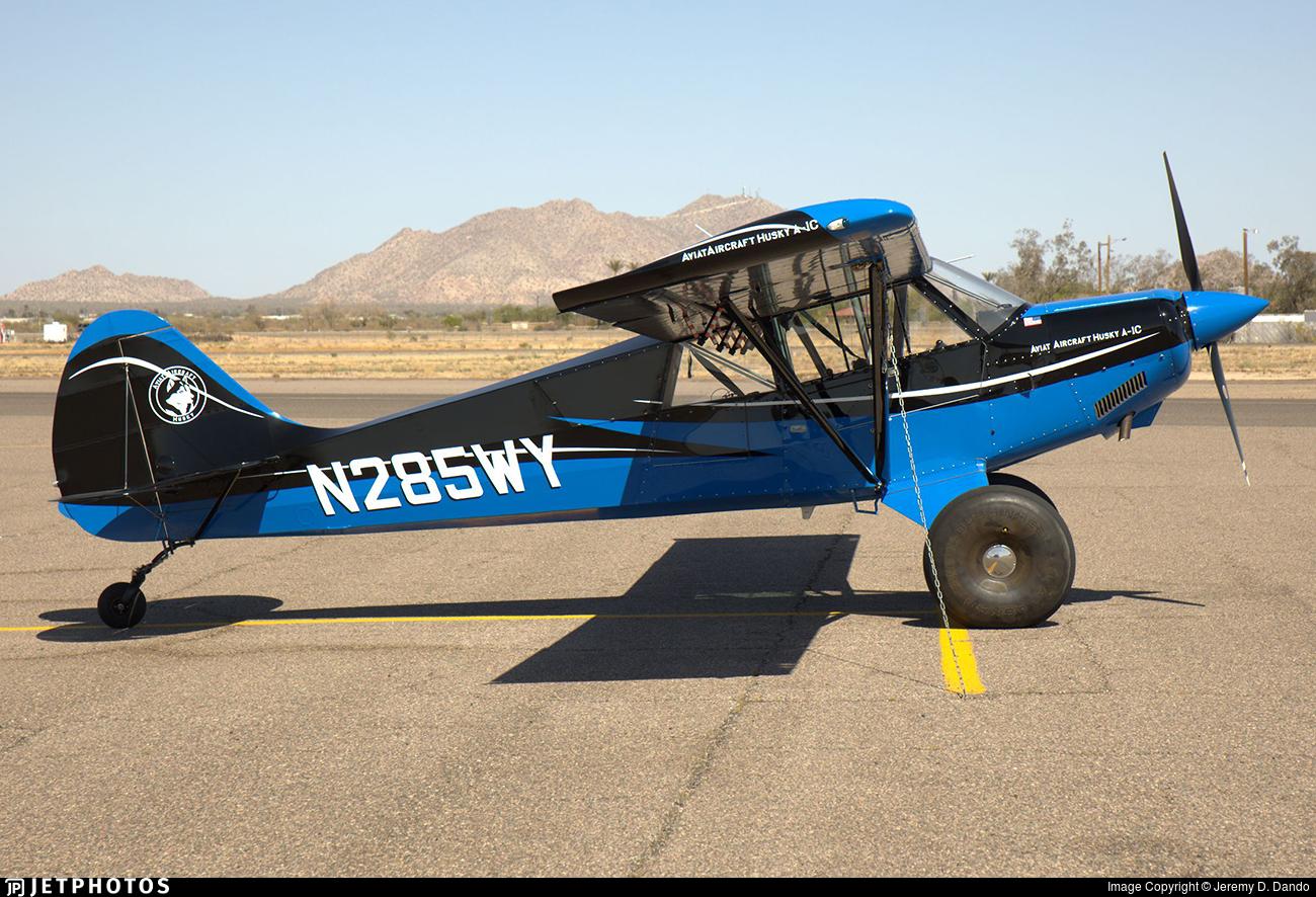 N285WY - Aviat A-1C Husky - Private