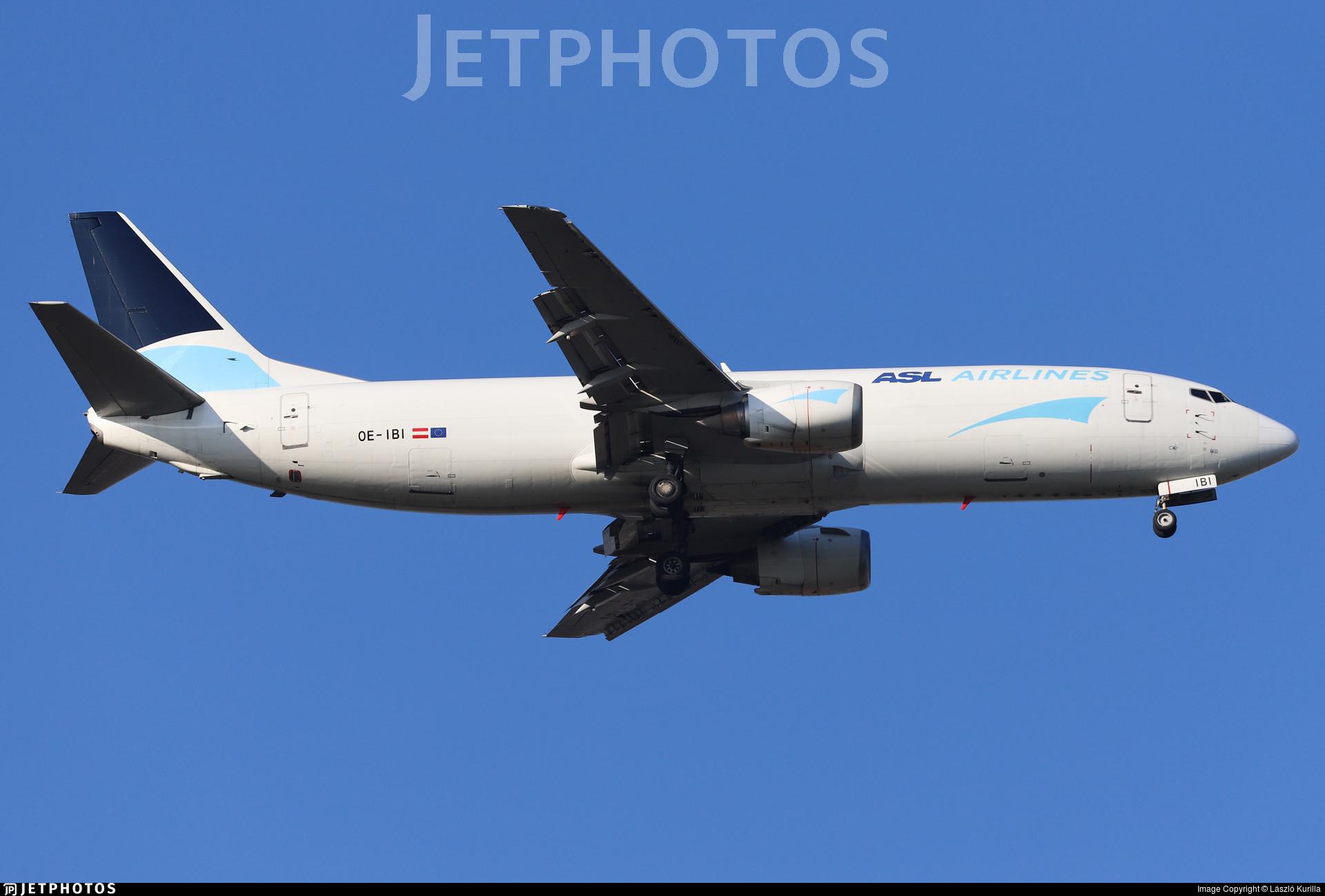 OE-IBI - Boeing 737-490(SF) - ASL Airlines