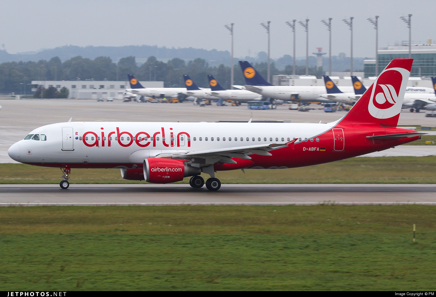 D-ABFA - Airbus A320-214 - Air Berlin