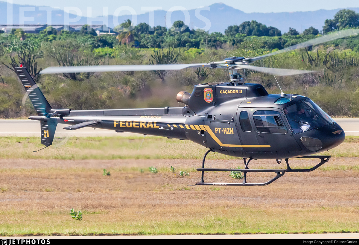 PT-HZH - Eurocopter AS 350B2 Ecureuil - Brazil - Federal Police