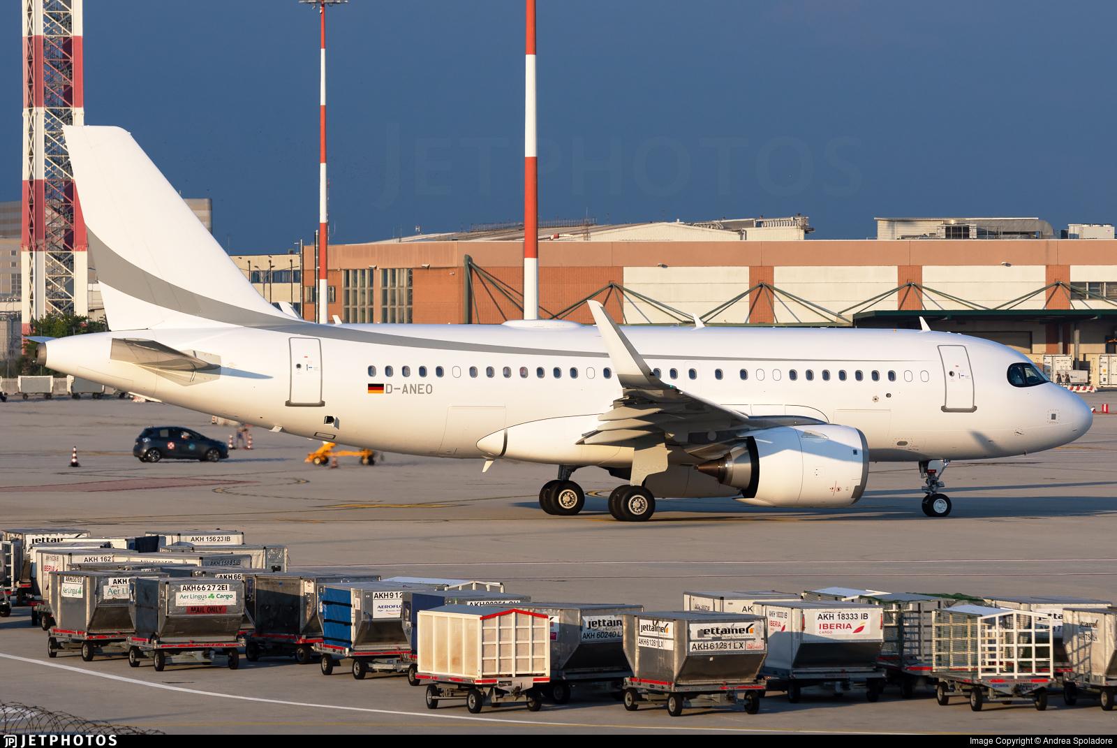 D-ANEO - Airbus A319-153N(CJ) - K5 Aviation