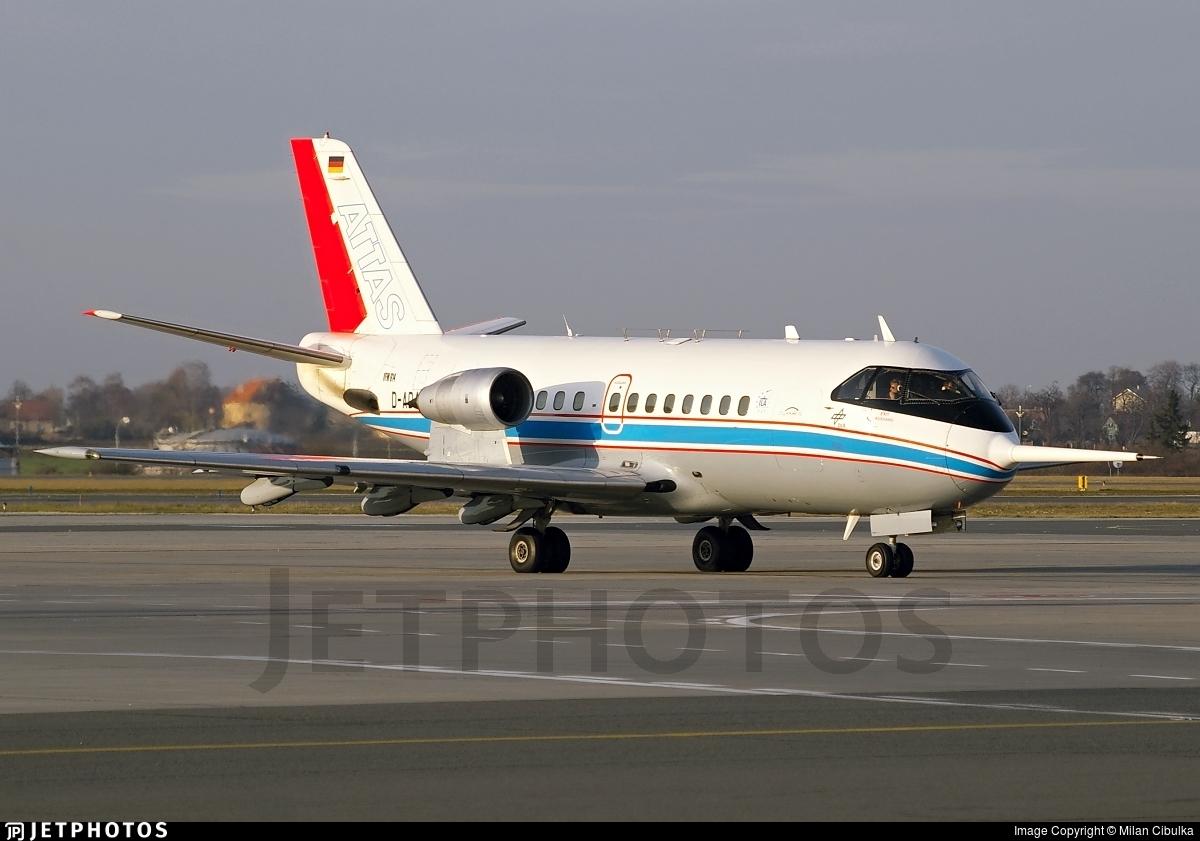 D-ADAM - VFW-Fokker VFW-614 - Germany - DLR Flugbetriebe