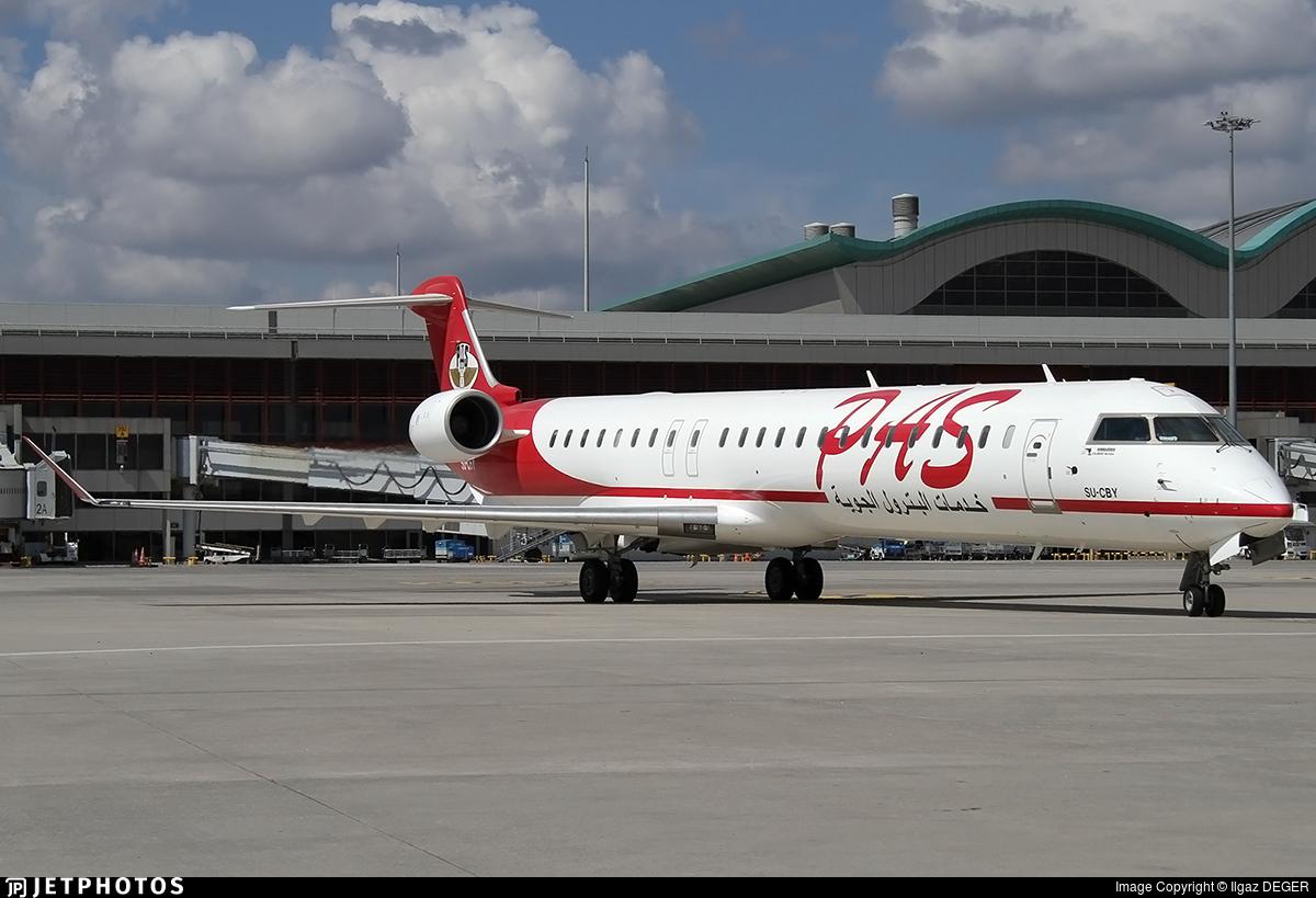 SU-CBY - Bombardier CRJ-900 - Petroleum Air Services (PAS)