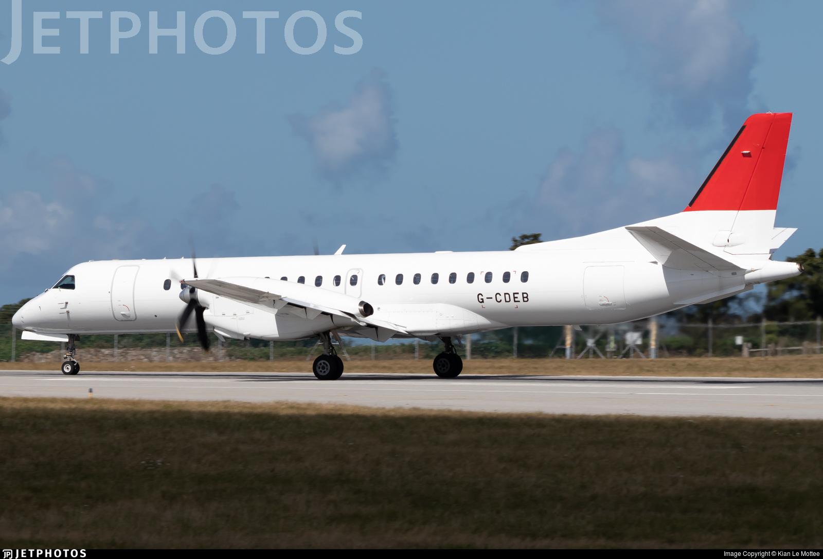 G-CDEB - Saab 2000 - Eastern Airways