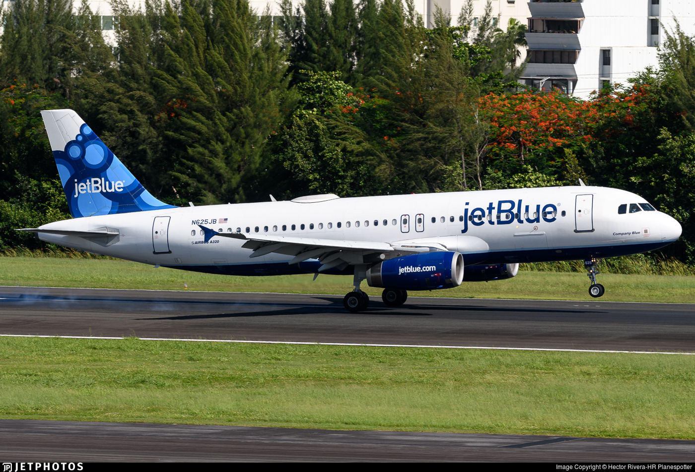 N625JB - Airbus A320-232 - jetBlue Airways
