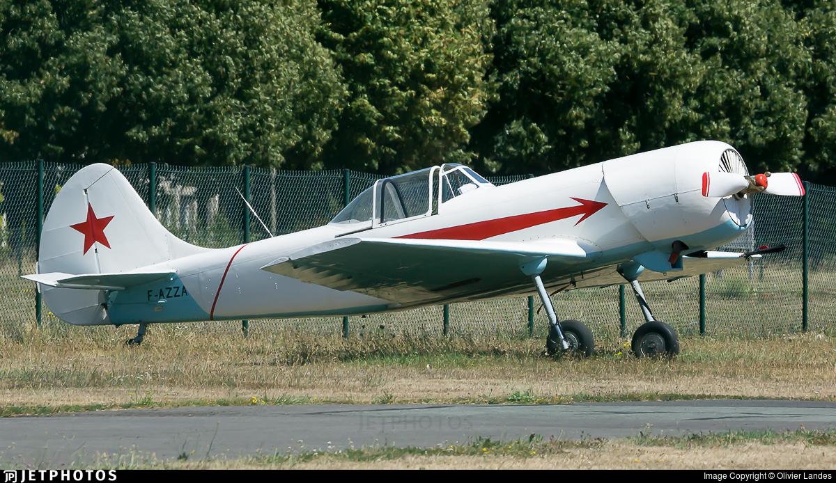 F-AZZA - Yakovlev Yak-50 - Private