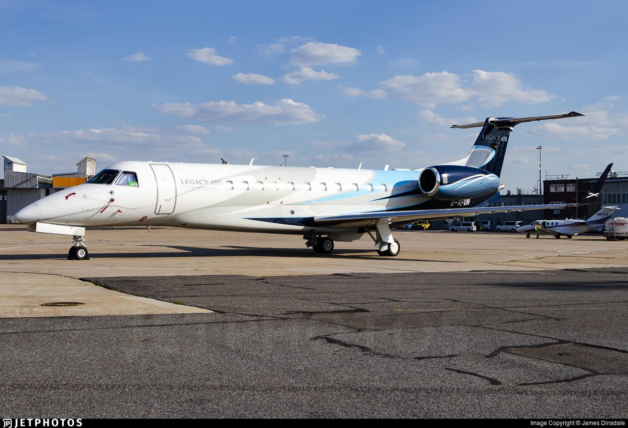 D-AFUN - Embraer ERJ-135BJ Legacy 650 - Air Hamburg