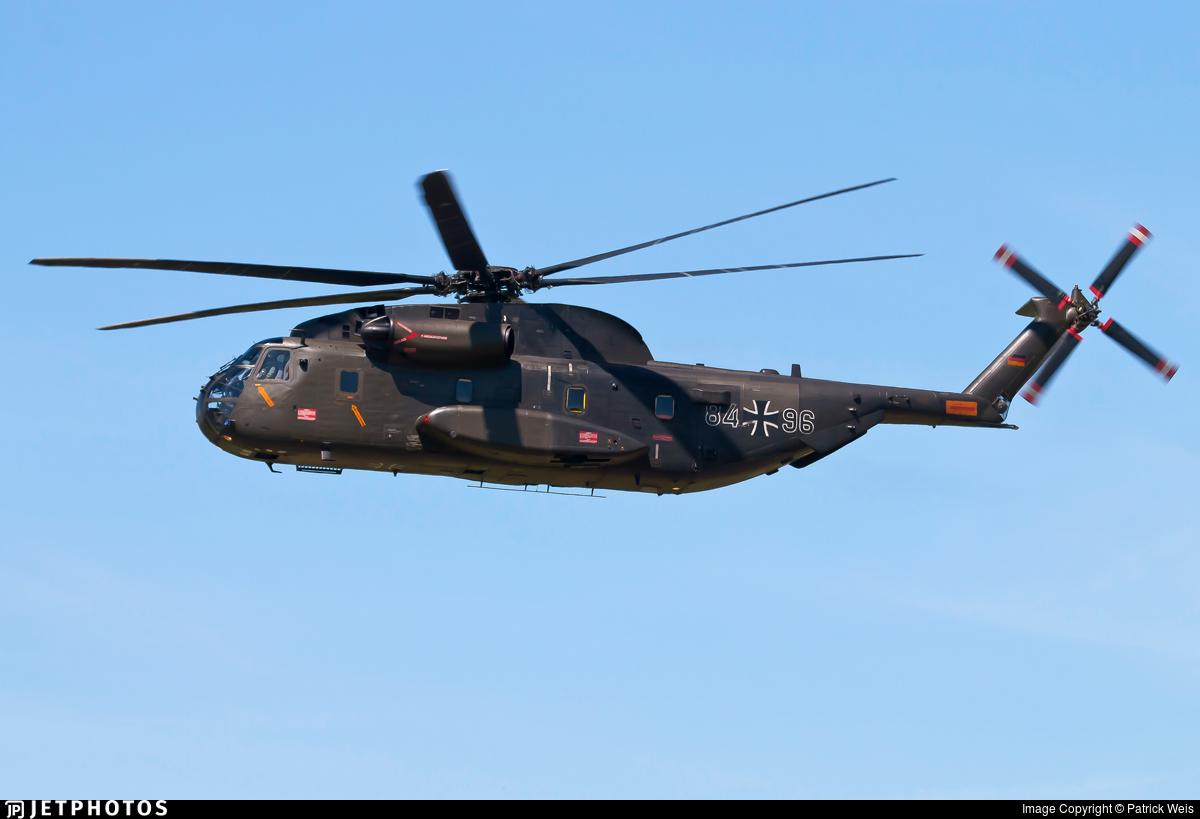 84-96 - Sikorsky CH-53GA - Germany - Air Force