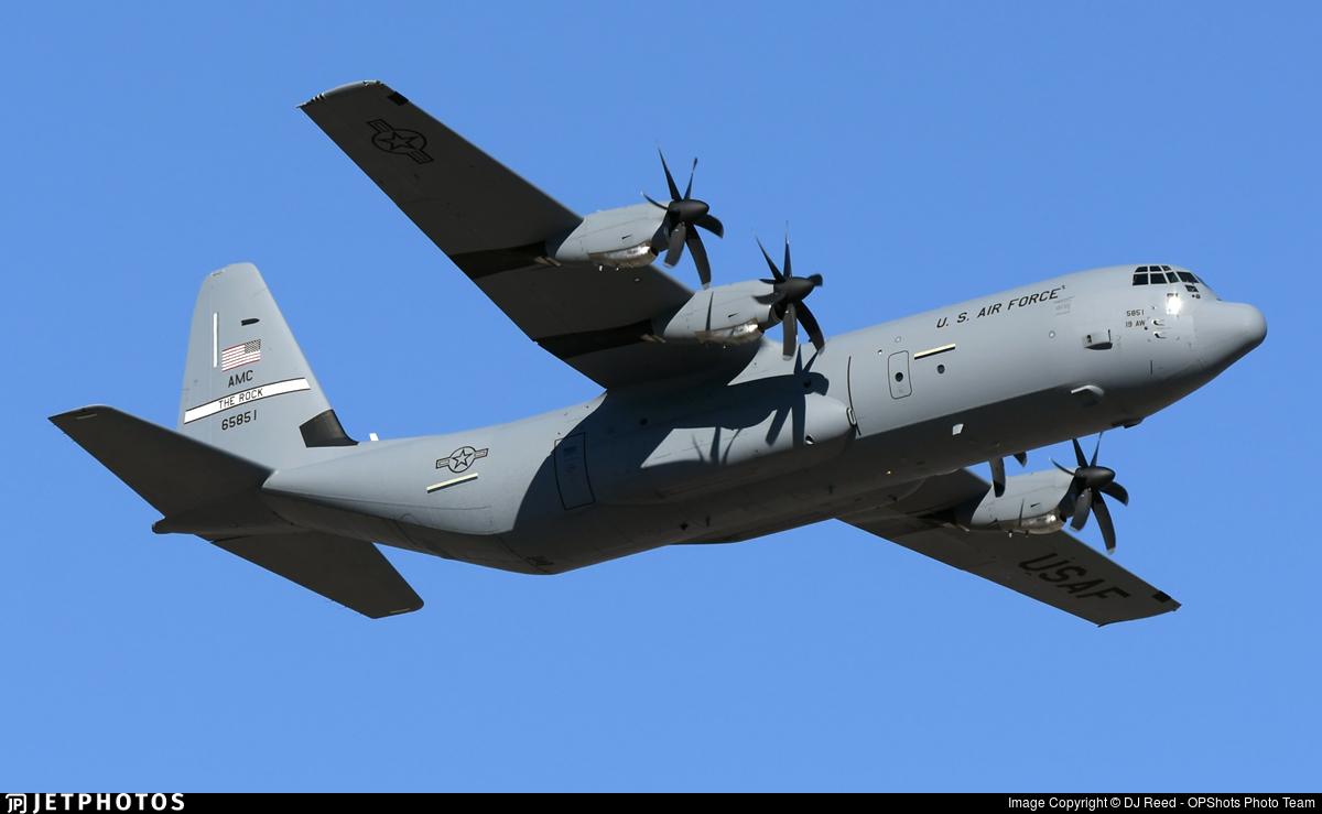 16-5851 - Lockheed Martin C-130J Hercules - United States - US Air Force (USAF)