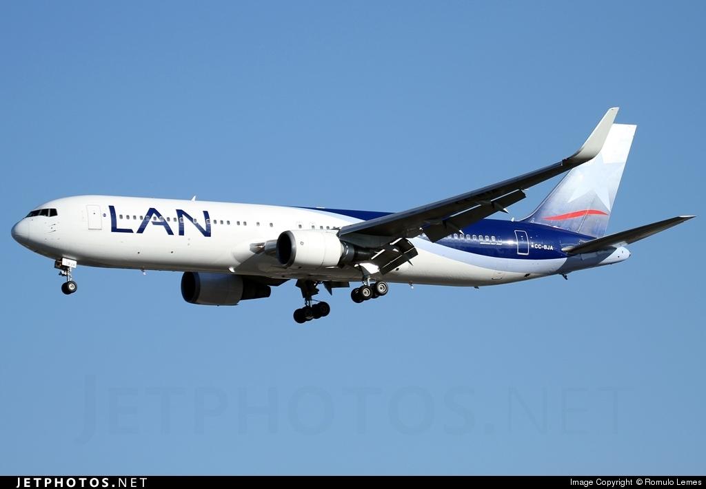 CC-BJA - Boeing 767-316(ER) - LAN Airlines
