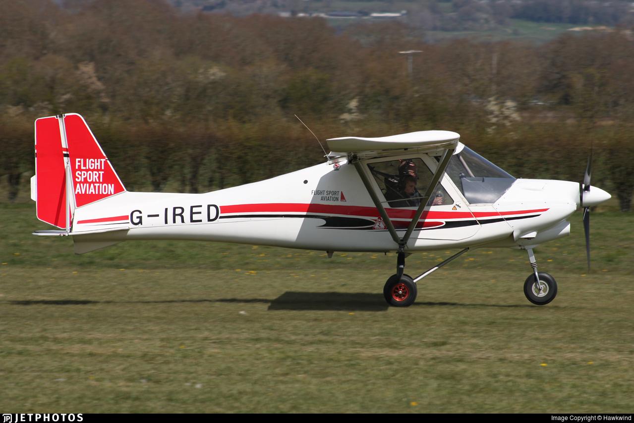 G-IRED - Comco Ikarus C42 FB80 Bravo - Deanland Flight Training