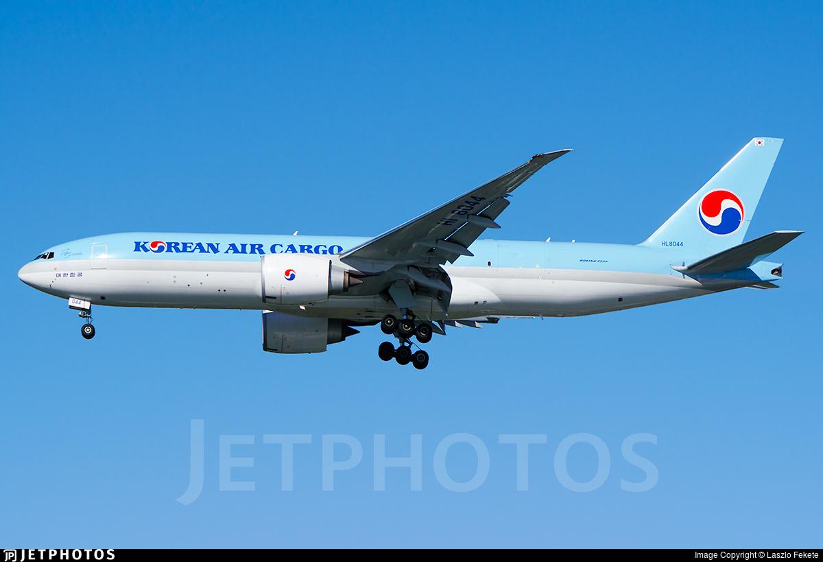 HL8044 - Boeing 777-FB5 - Korean Air Cargo