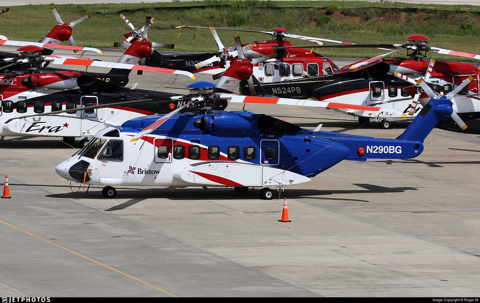 N290BG  - Sikorsky S-92A Helibus - Bristow Helicopters