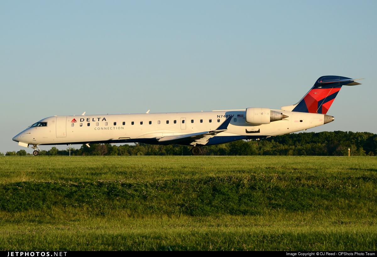 N748EV - Bombardier CRJ-701ER - Delta Connection (ExpressJet Airlines)