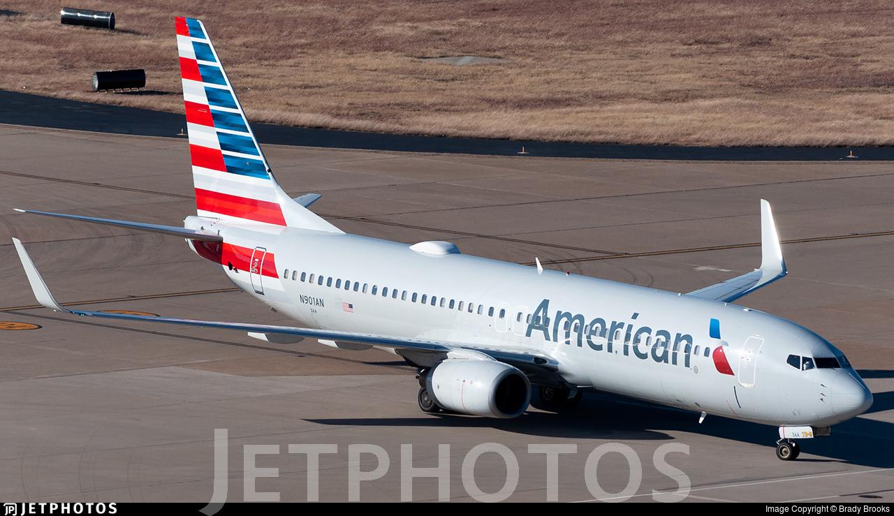 N901AN - Boeing 737-823 - American Airlines