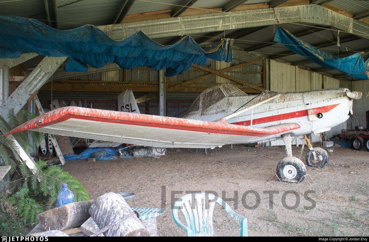 ZK-CSL - Cessna A188 Ag Wagon - Private
