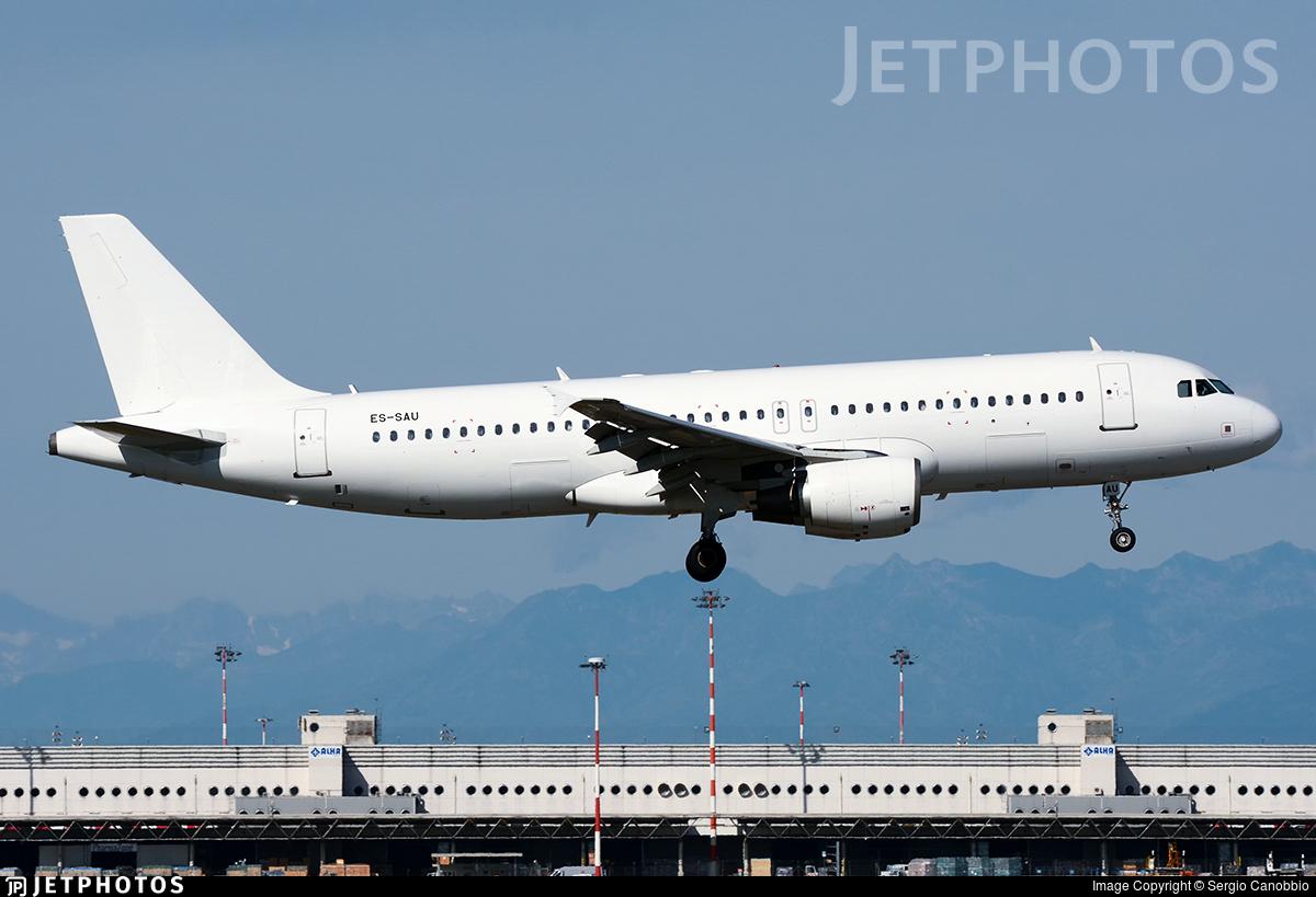 ES-SAU - Airbus A320-214 - SmartLynx Estonia
