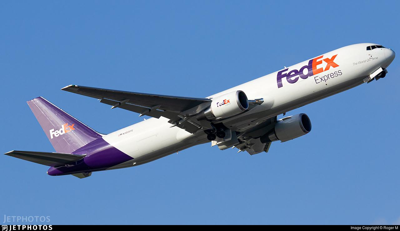 N185FE - Boeing 767-32SF(ER) - FedEx