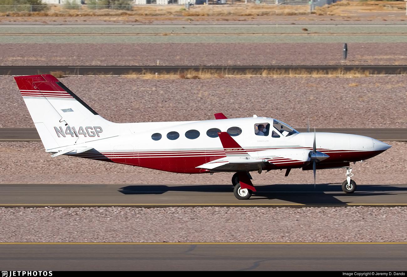 N414GP - Cessna 414A Chancellor - Sun Valley Freight