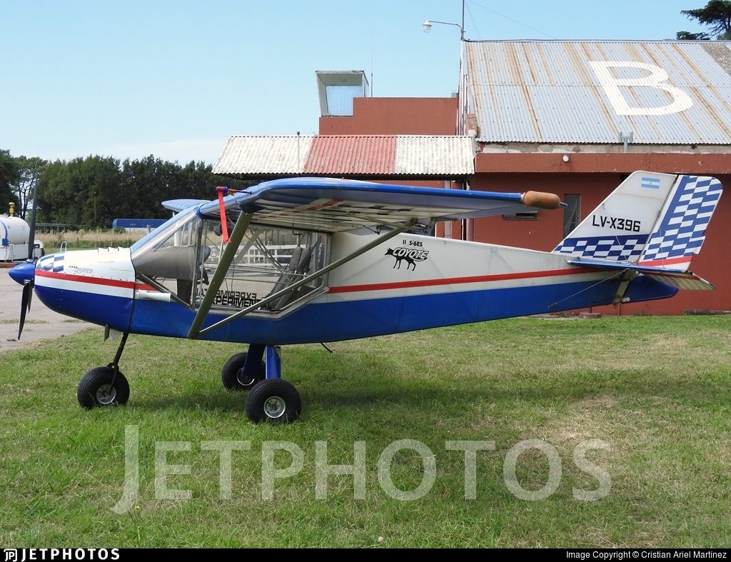 LV-X396 - Rans S-6ES Coyote II - Private