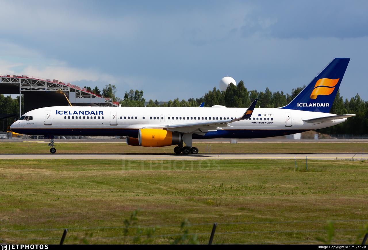 TF-FIT - Boeing 757-256 - Icelandair