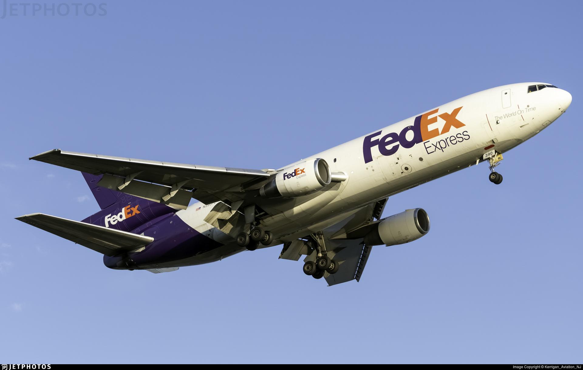 N390FE - McDonnell Douglas MD-10-10(F) - FedEx