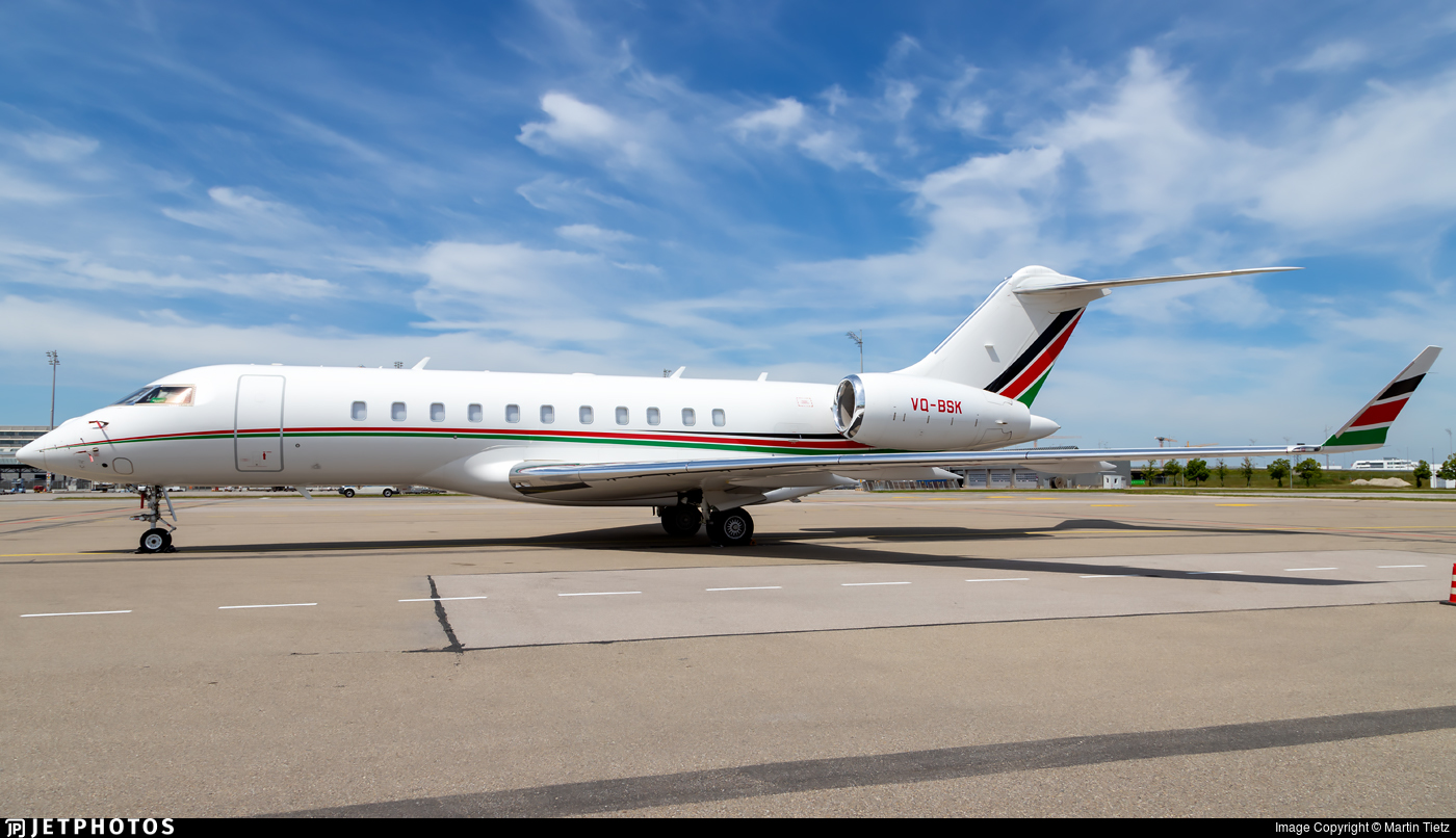 VQ-BSK - Bombardier BD-700-1A11 Global 5000 - Private