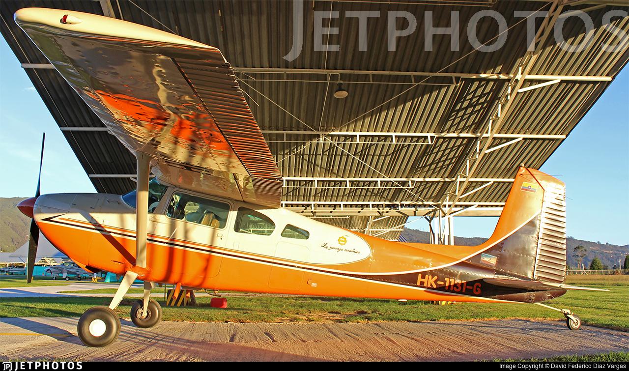 HK-1131-G - Cessna 180 Skywagon - Private