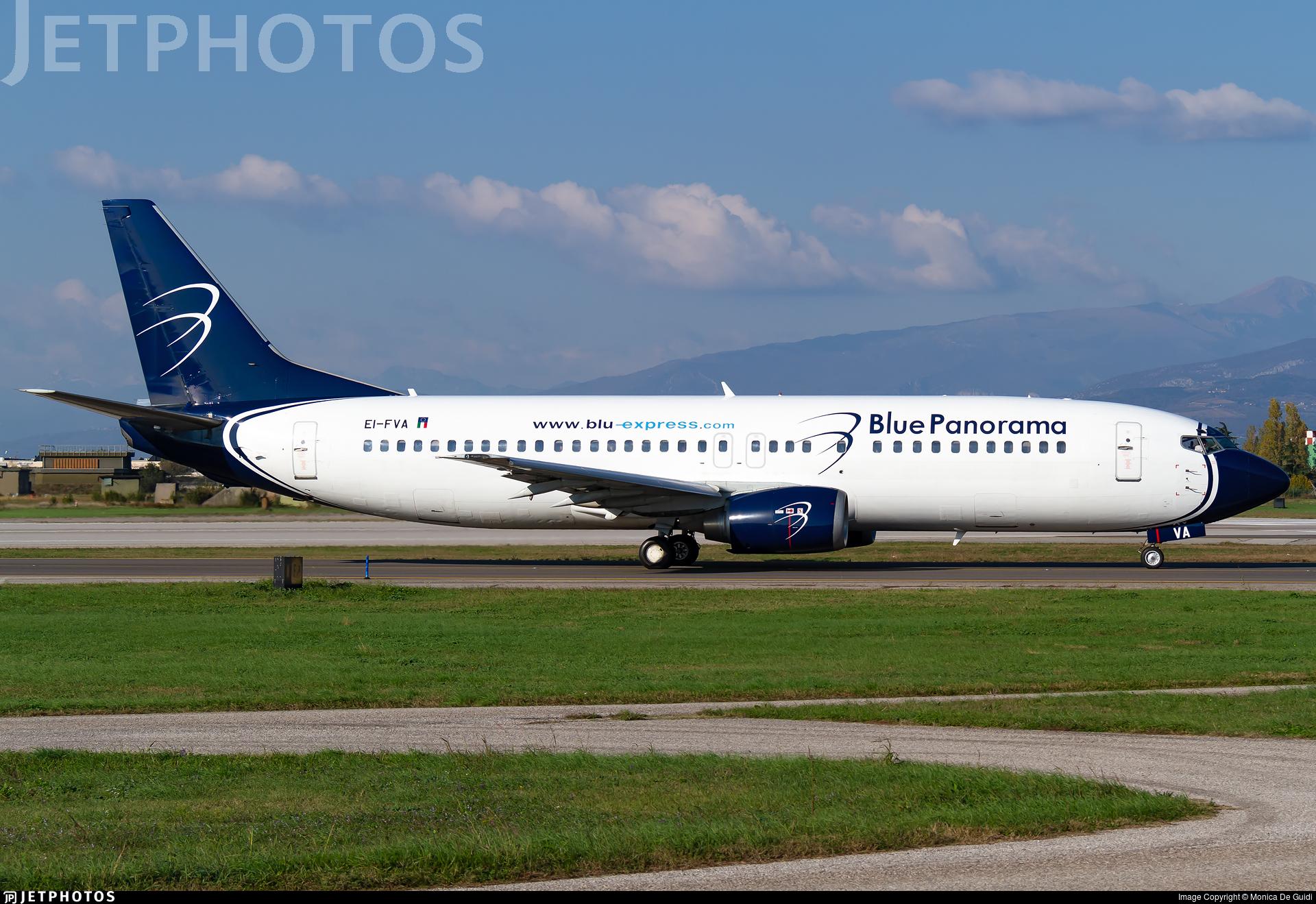 EI-FVA - Boeing 737-4Q8 - Blue Panorama Airlines