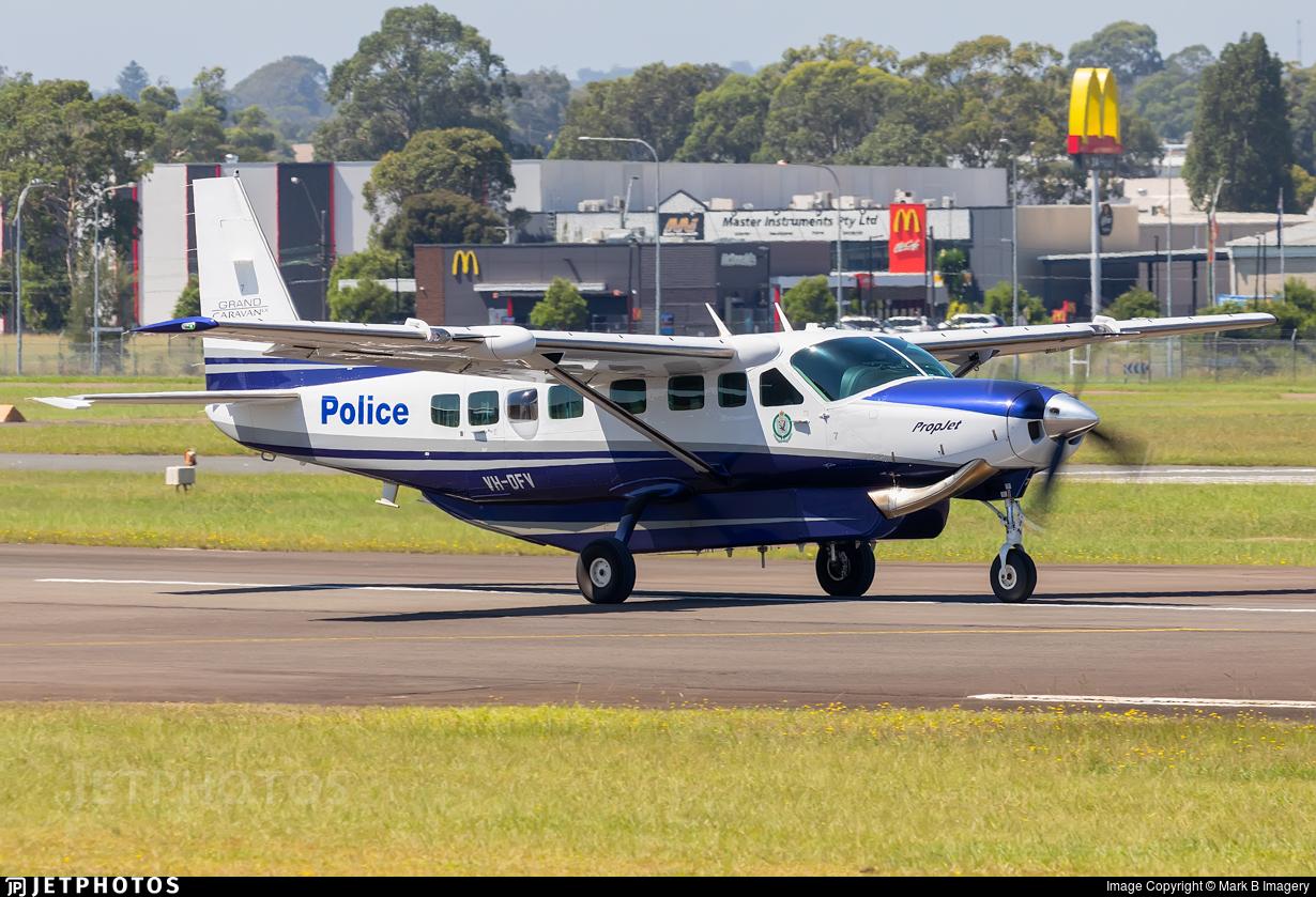 VH-DFV - Cessna 208B Grand Caravan EX - Australia - New South Wales Police