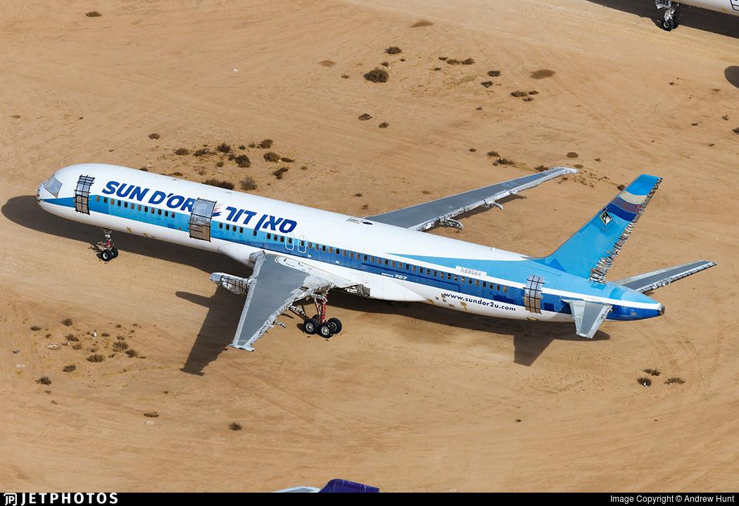 N68084 - Boeing 757-258 - Sun d'Or International Airlines