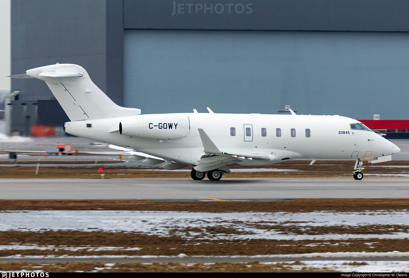 C-GOWY - Bombardier BD-100-1A10 Challenger 350 - Bombardier Aerospace