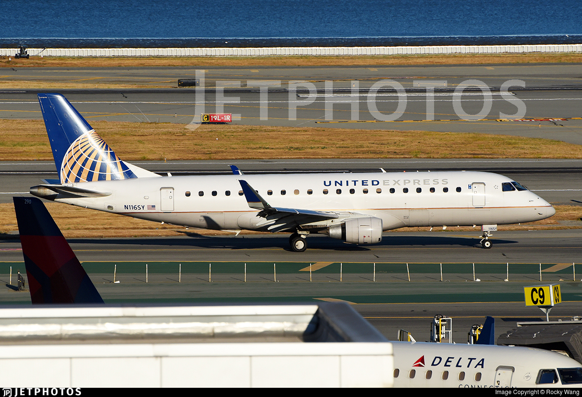 N116SY - Embraer 170-200LR - United Express (SkyWest Airlines)