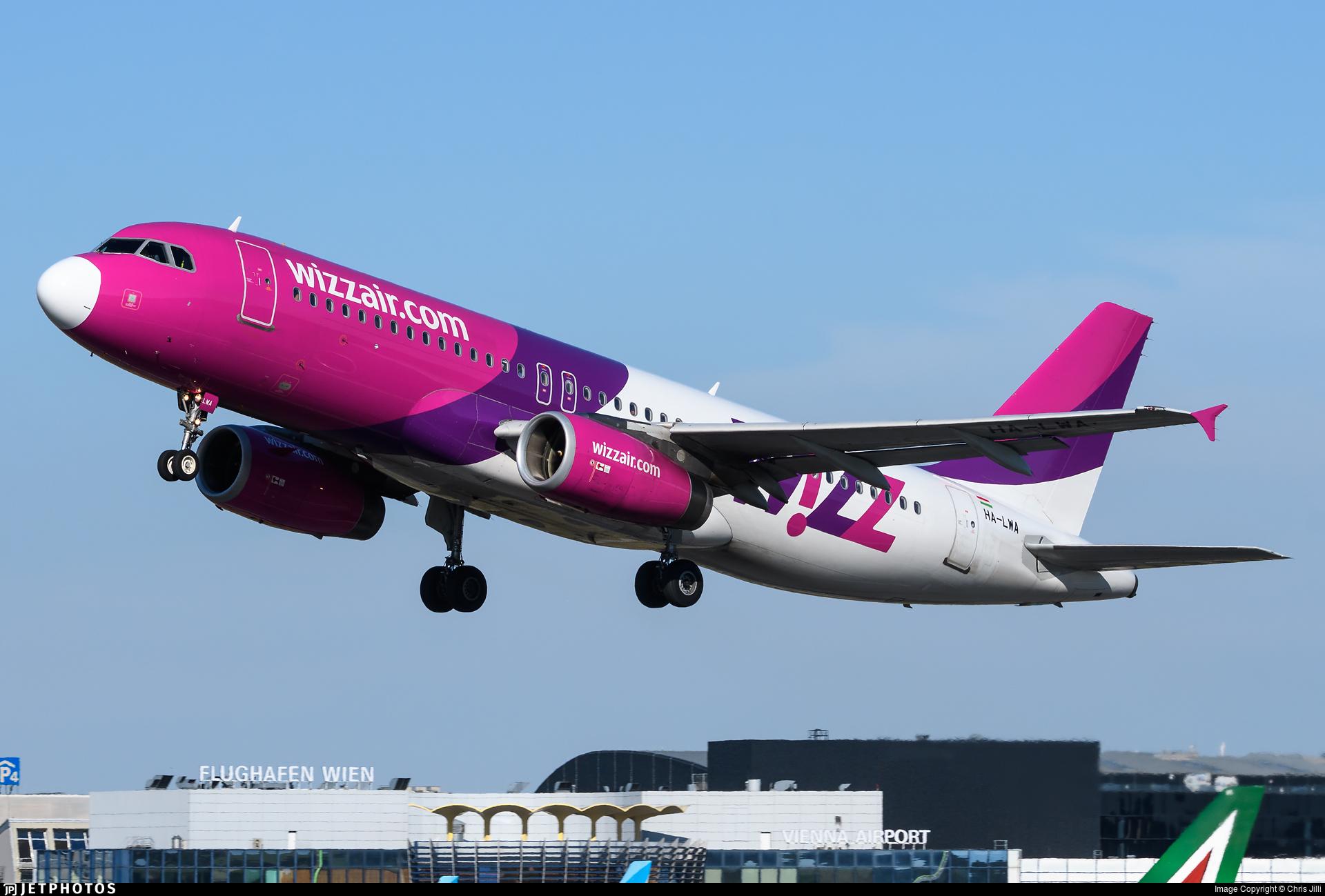 Ha Lwa Airbus A320 232 Wizz Air Chris Jilli Jetphotos