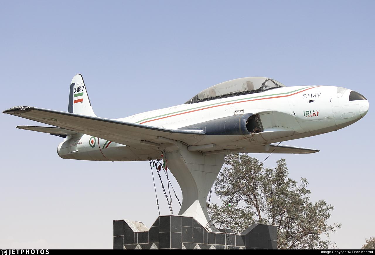 3-1187 - Lockheed T-33 Shooting Star - Iran - Air Force