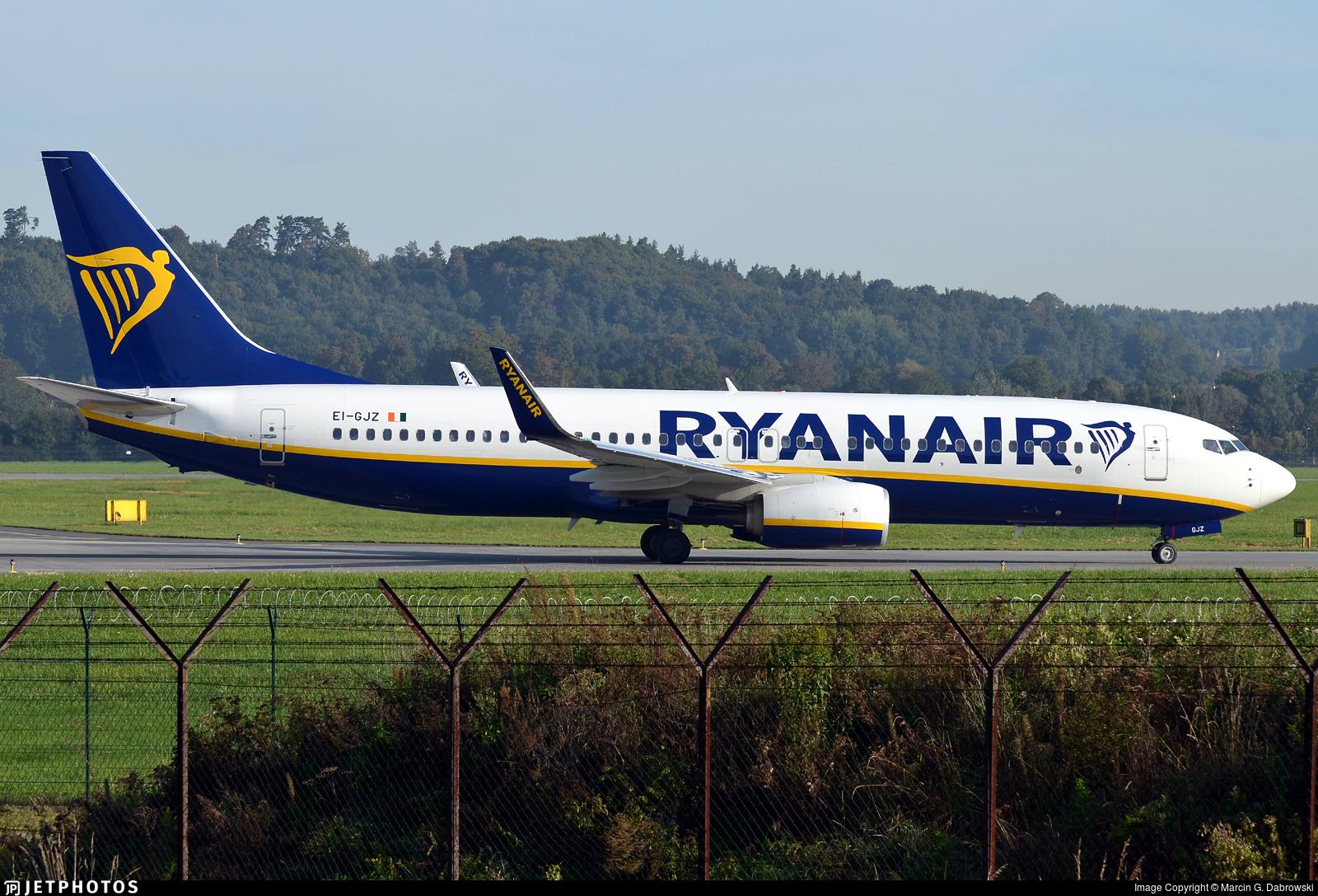 EI-GJZ - Boeing 737-8AS - Ryanair