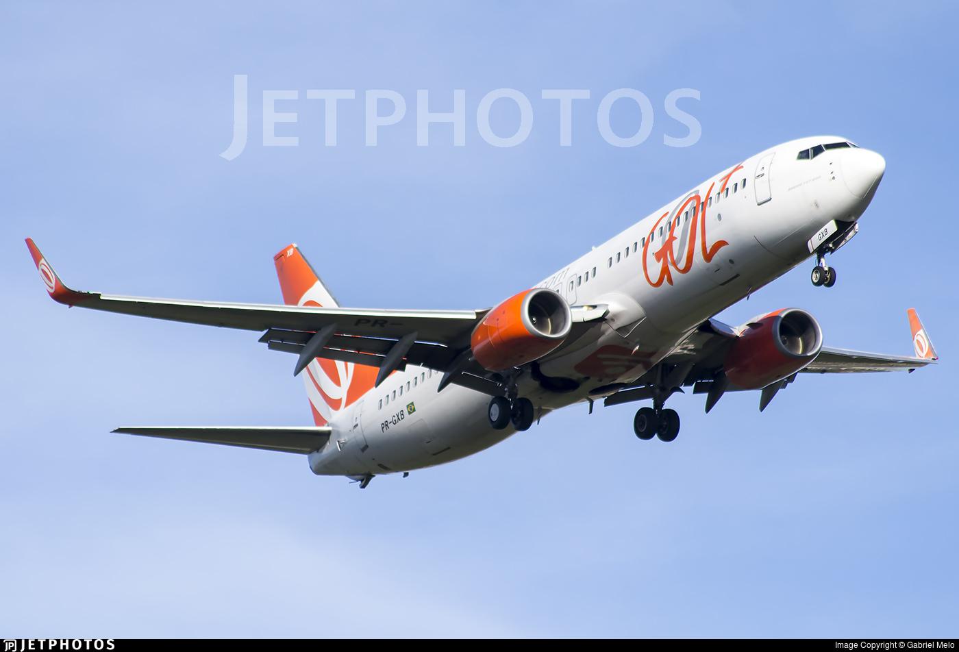 PR-GXB - Boeing 737-8EH - GOL Linhas Aereas
