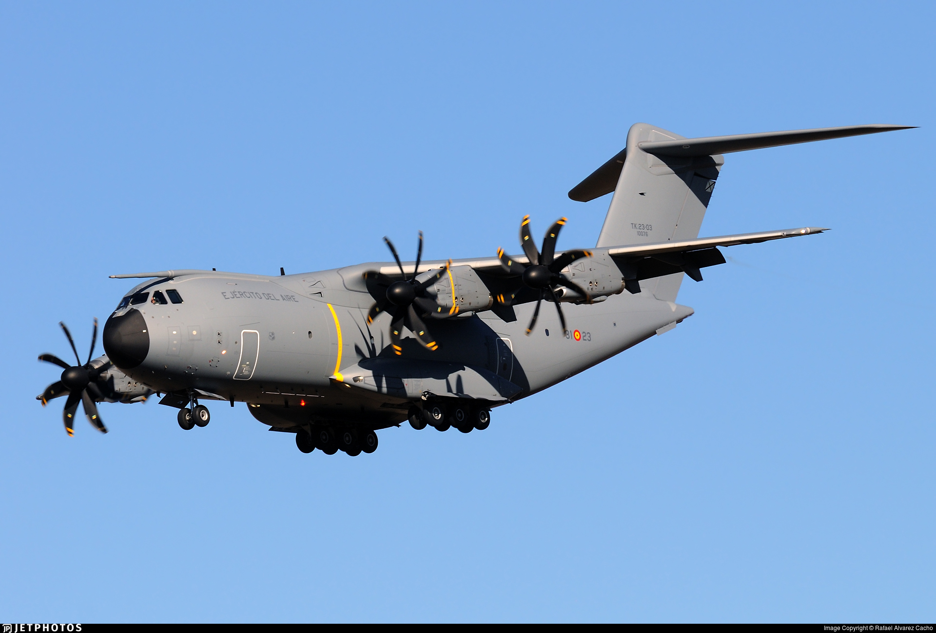 TK.23-03 - Airbus A400M - Spain - Air Force
