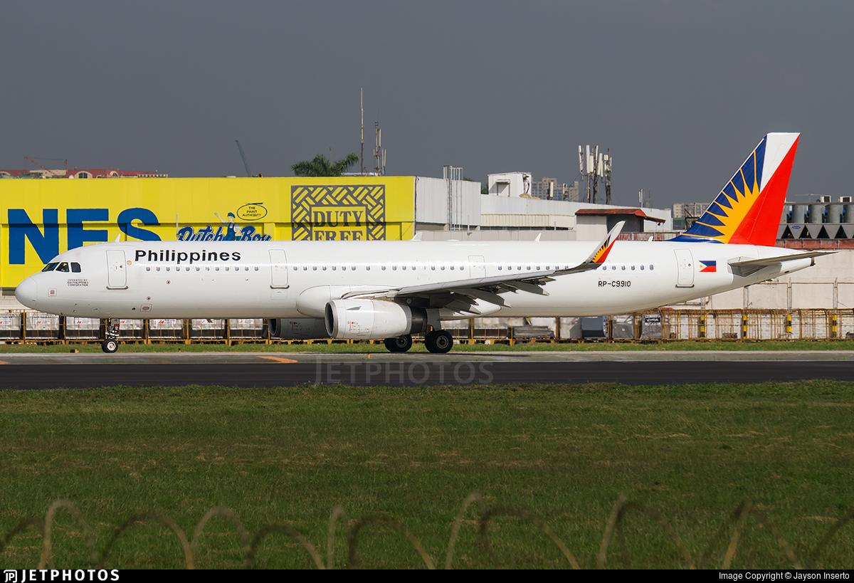 RP-C9910 - Airbus A321-231 - PAL Express