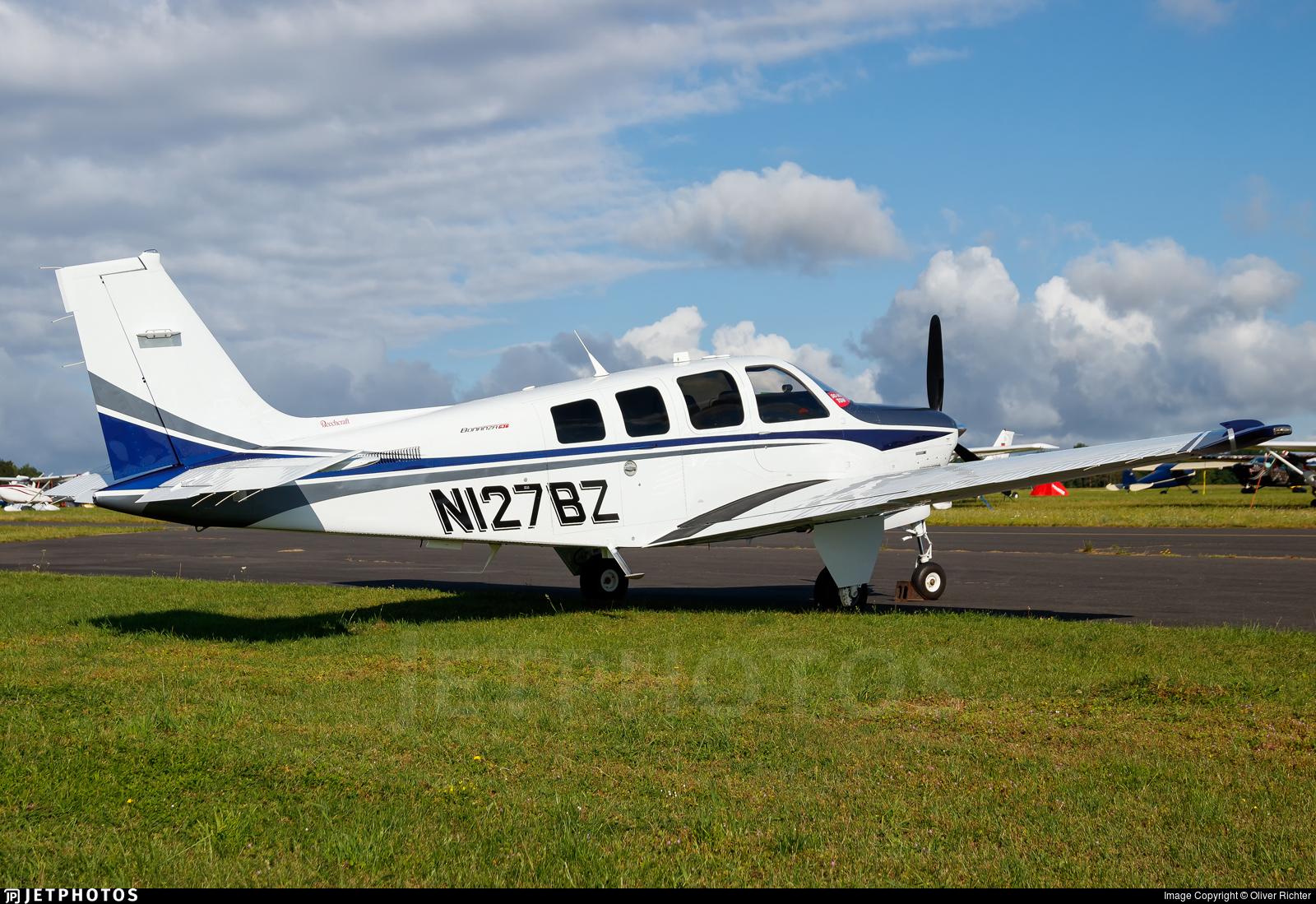 N127BZ - Beechcraft G36 Bonanza - Private