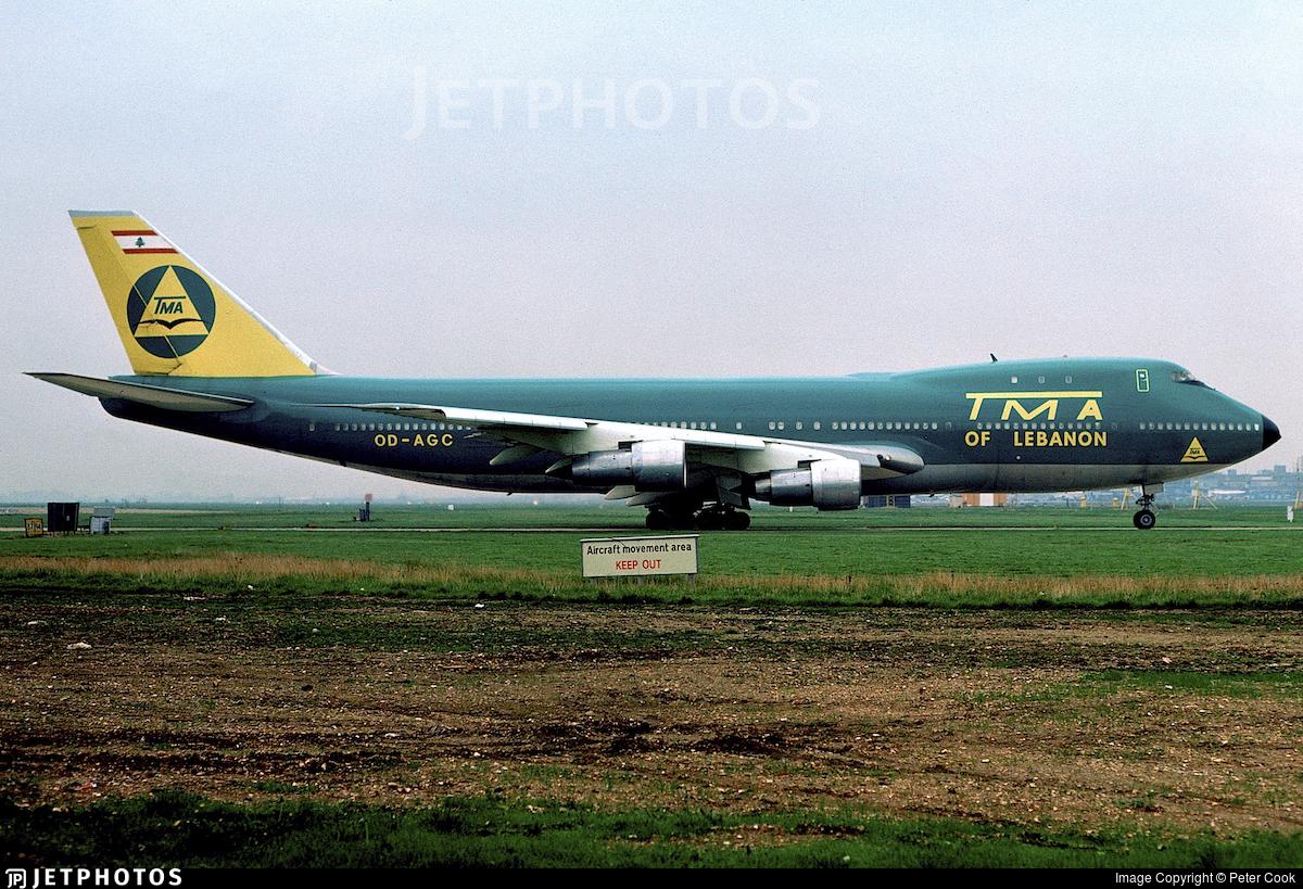 OD-AGC - Boeing 747-123(SF) - Trans Mediterranean Airways (TMA)