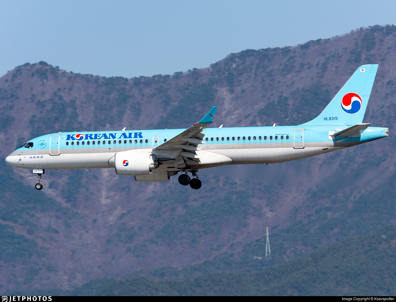 HL8315 - Airbus A220-371 - Korean Air