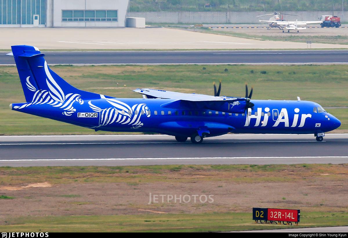 F-OIQR - ATR 72-212A(500) - Hi Air